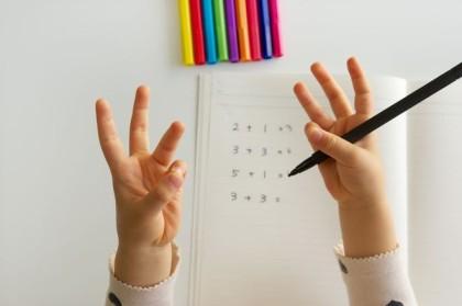 足し算の勉強